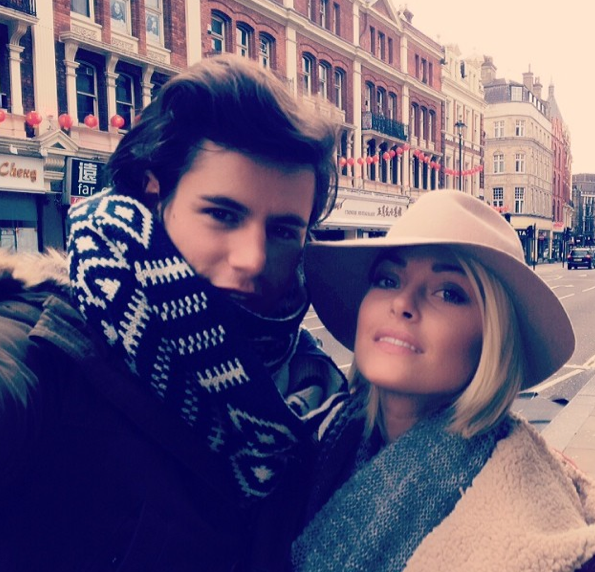Photos : Caroline Receveur : week-end stylé à Londres avec son Valentin !