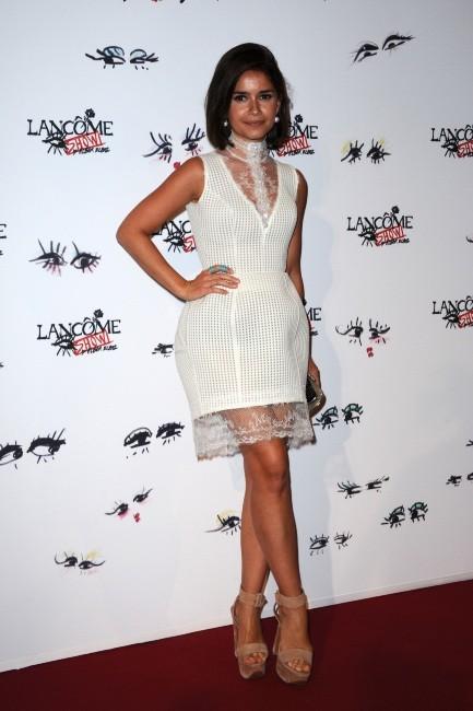 """Miroslava Duma lors de la soirée """"Lancôme Show by Alber Elbaz"""" à Paris, le 2 juillet 2013."""
