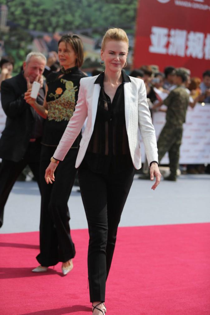 Nicole Kidman lors de l'inauguration de l'Oriental Movie Metropolis Ceremony en Chine, le 22 septembre 2013.