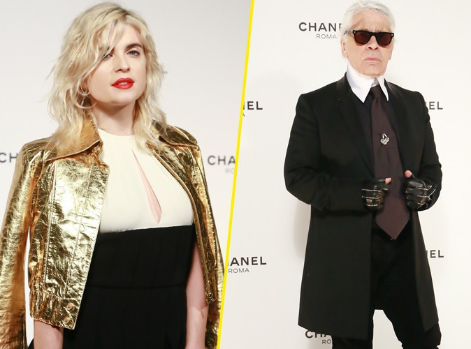 Cécile Cassel : golden girl pour Karl Lagerfeld !