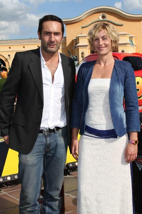 Cécile prend la pose avec le charmant Gilles Lellouche