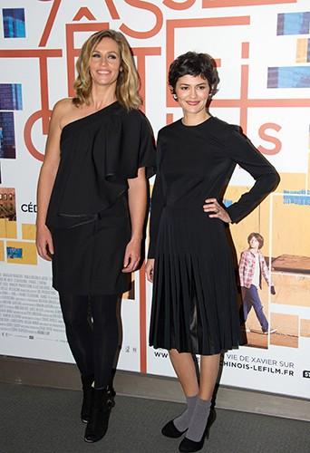 Cécile de France et Audrey Tautou à Paris le 25 novembre 2013
