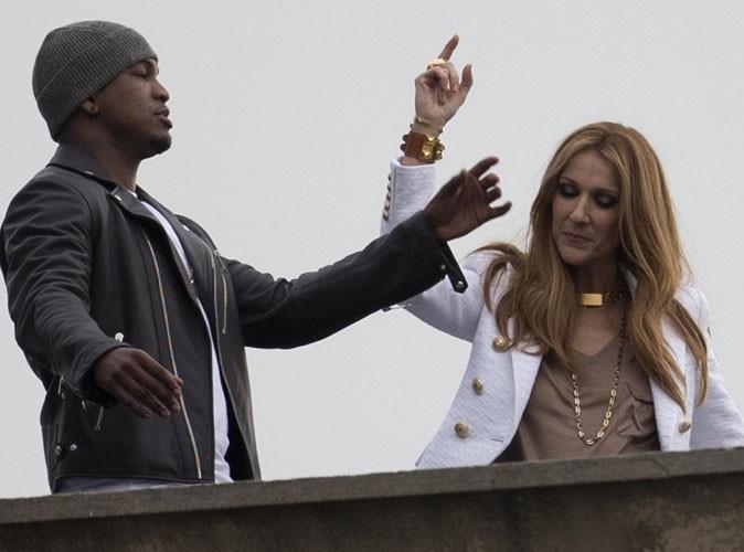 Céline Dion : en plein tournage de son nouveau clip avec Ne-Yo à Los Angeles !
