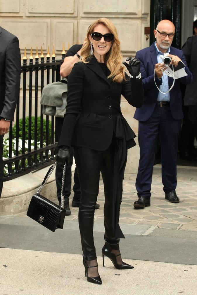 Céline Dion à Paris le 4 juillet 2016