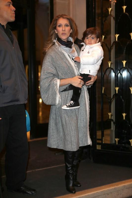 Celine Dion le 30 novembre 2012 à Paris
