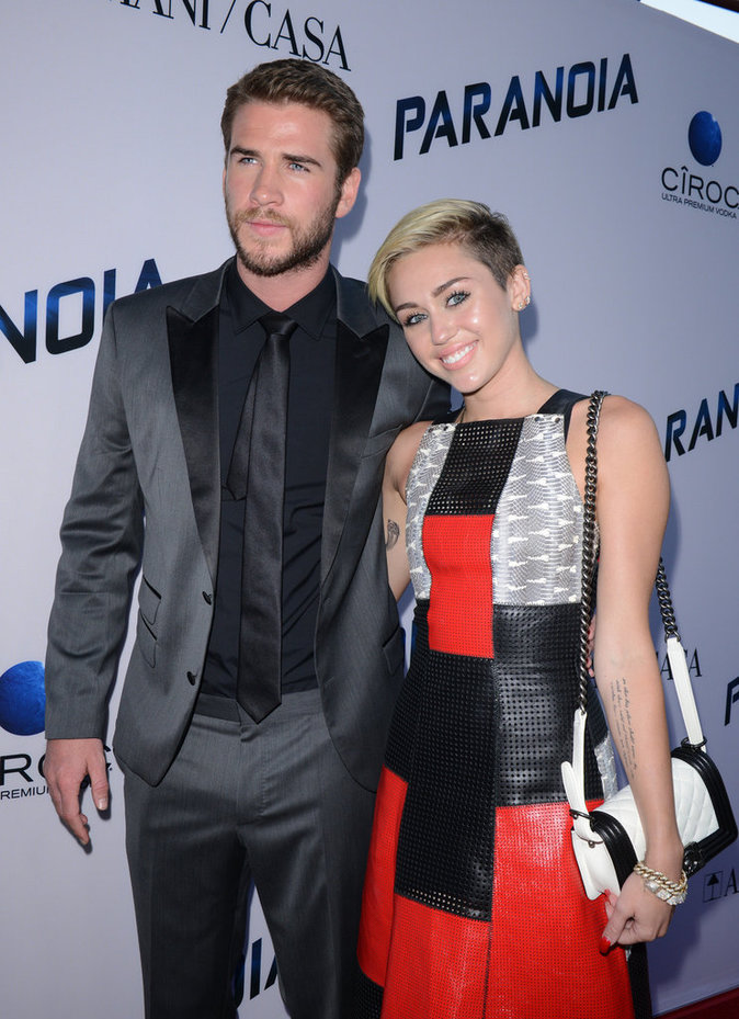 Miley Cyrus, Liam Hemsworth