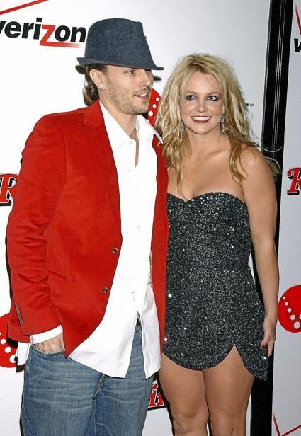 Photos : le couple de stars Britney Spears/Kevin Ferdeline s'est marié trop jeune !