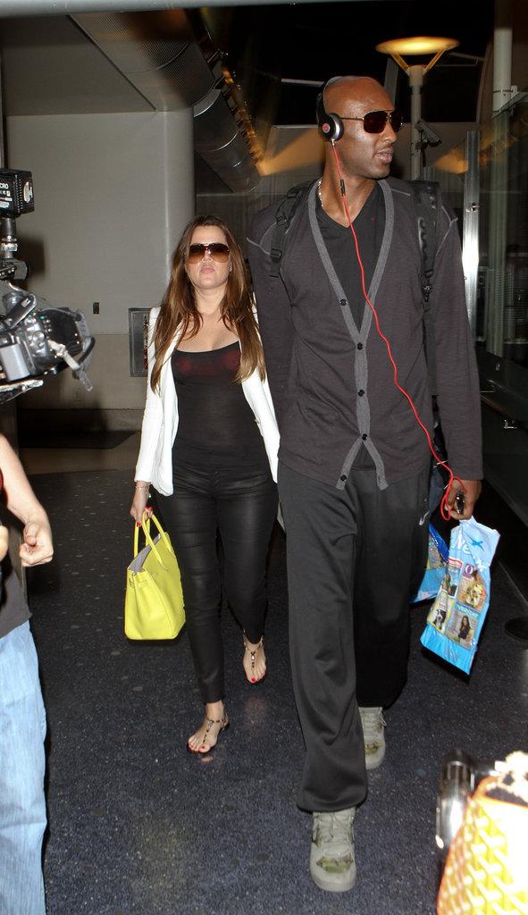 Khloe Kardashian et Lamar Odom