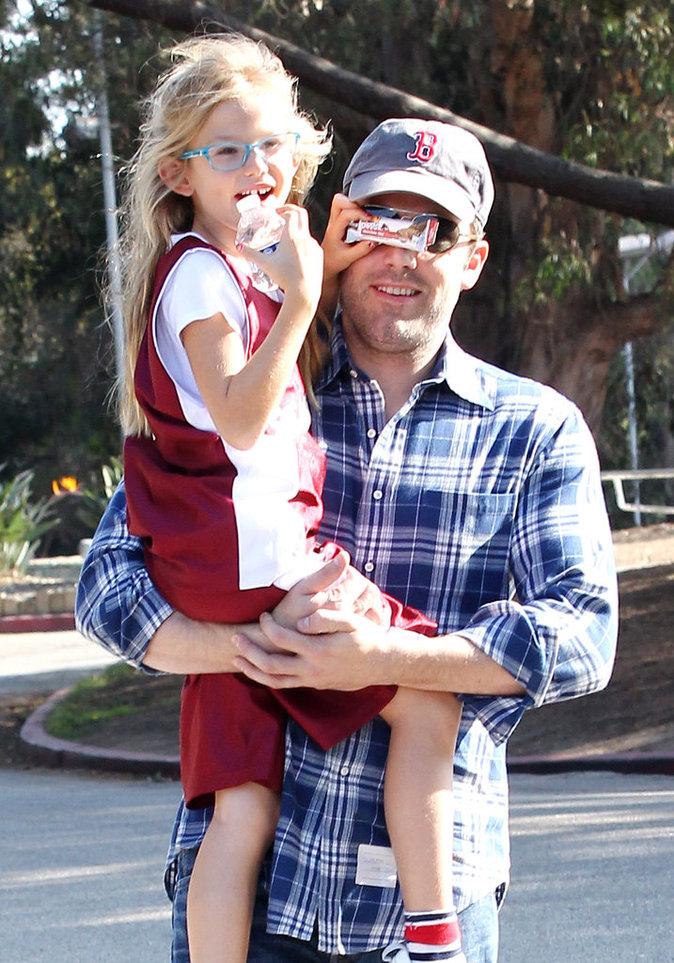 Violet Affleck et son père Ben Affleck