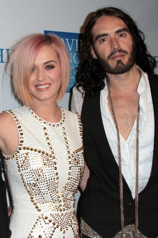 Katy Perry a craqué pour Russel Brand !