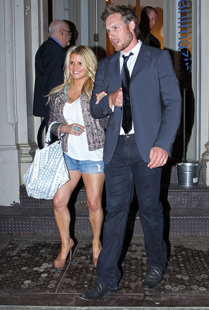Jessica Simpson et Eric Johnson en 2011