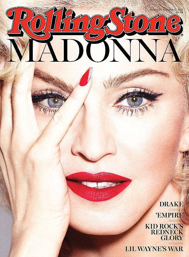 Madonna en Marilyn Monroe