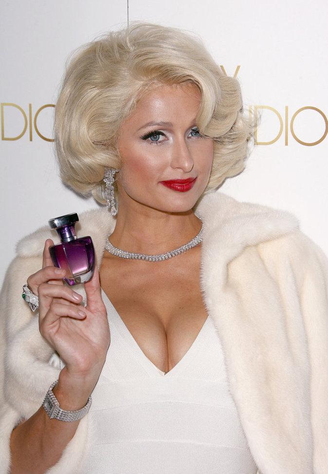 Paris Hilton en Marilyn Monroe