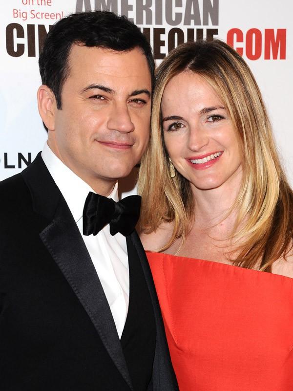 Jimmy Kimmel et sa compagne