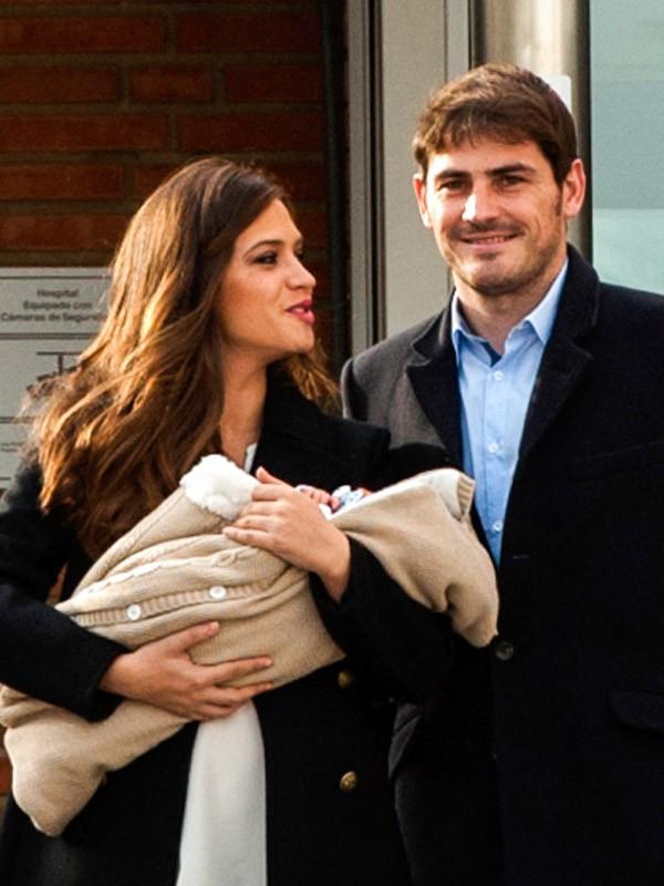 Sara Carbonero et Iker Casillas