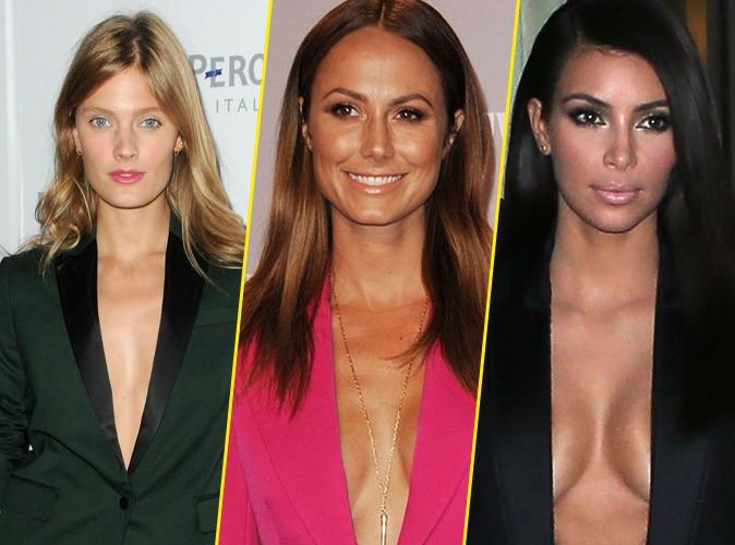 Ces stars qui sont nues sous leur veste !