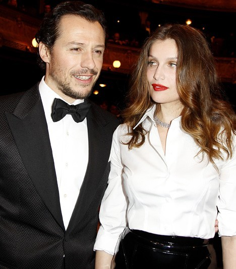 Avec son mari Stefano Accorsi