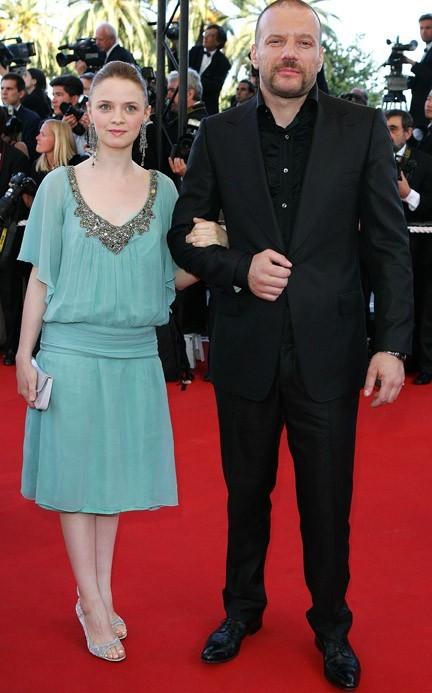 A Cannes en 2006 avec Samuel LeBihan