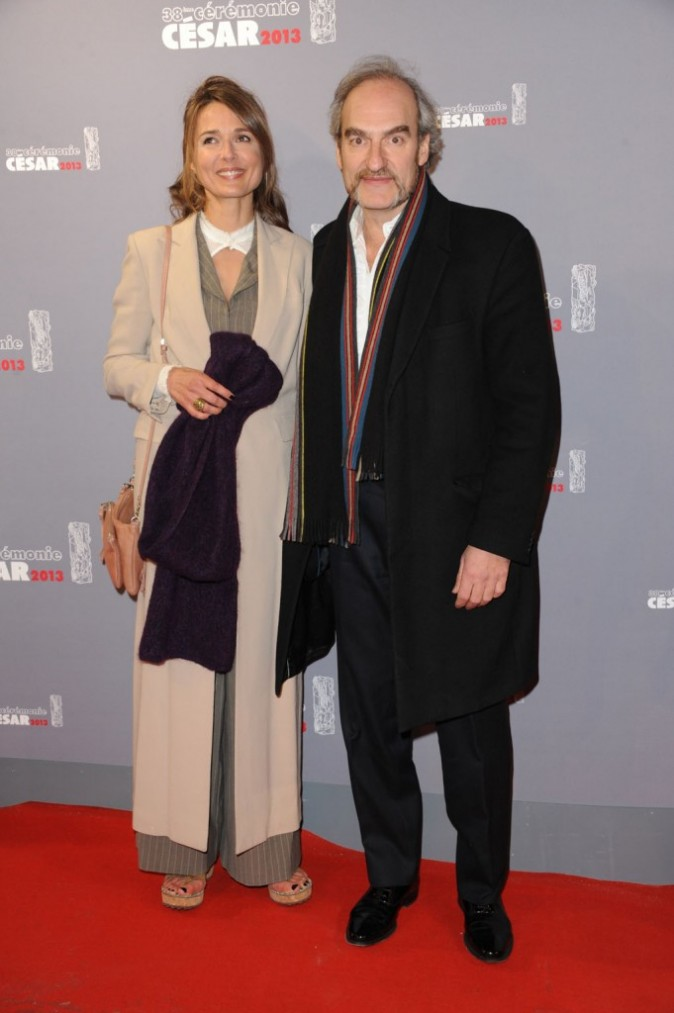 Michel Vuillermoz et sa femme