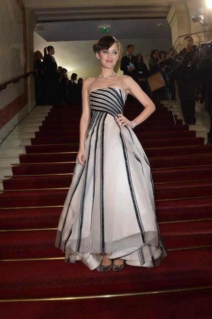 Marion Cotillard le 22 février 2013 à Paris