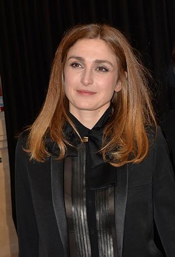 Julie Gayet à Paris le 28 février 2014