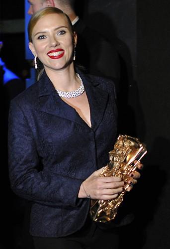 Scarlett Johansson à Paris le 28 février 2014
