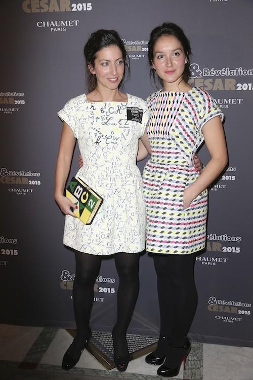Révélations César 2015 : Anaïs Demoustier et Anna Sigalevitch