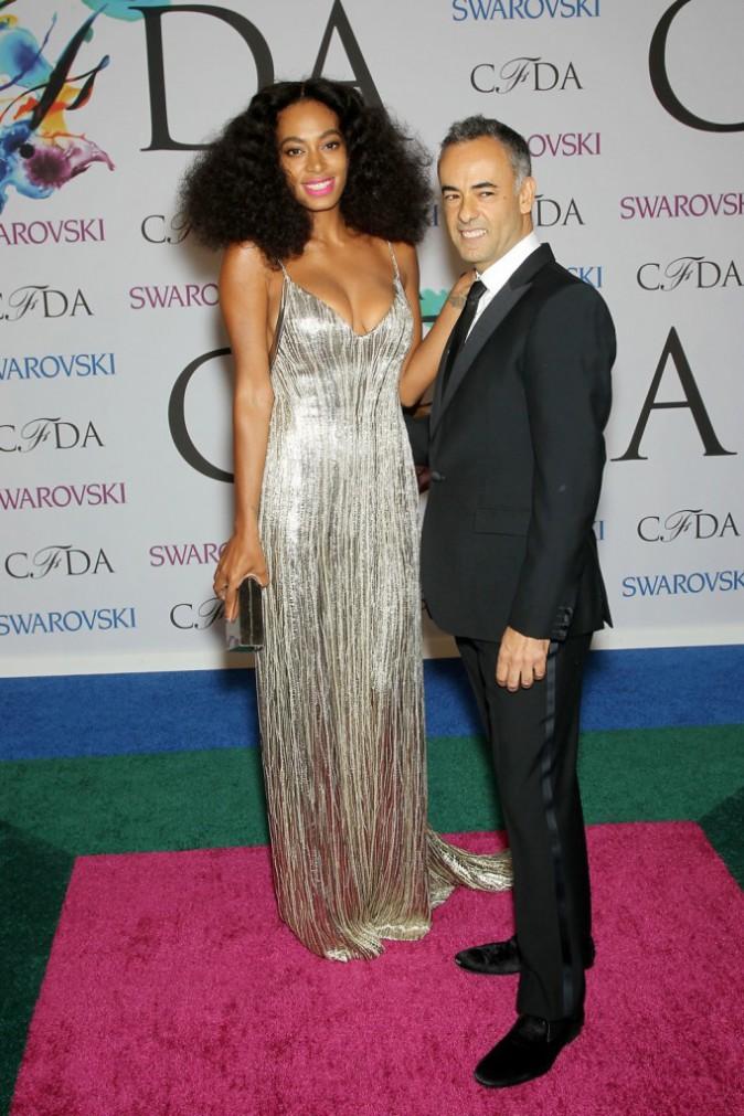Photos : CFDA Awards : Solange Knowles : raffinement et élégance au rendez-vous sur le redcarpet !
