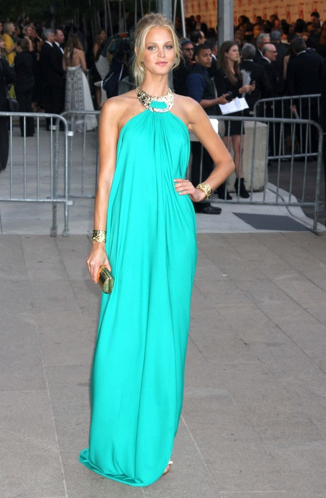Erin Heatherton lors des CFDA Fashion Awards à New York, le 4 juin 2012.