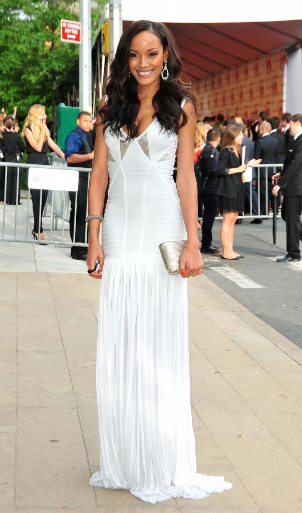 Selita Ebanks lors des CFDA Fashion Awards à New York, le 4 juin 2012.
