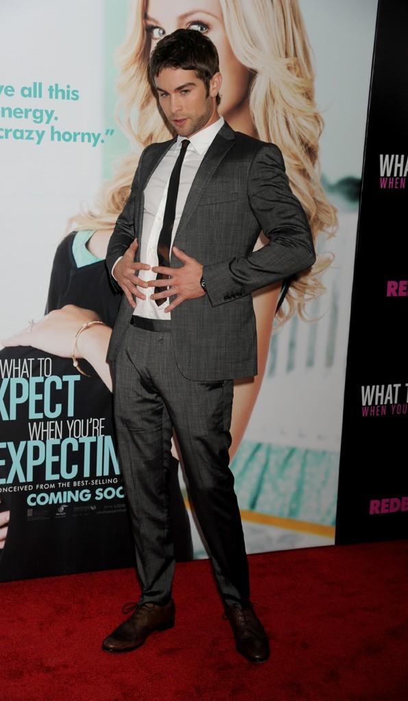 Chace Crawford à la première new-yorkaise de Ce qui vous attend si vous attendez un enfant
