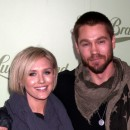 Chad Michael Murray et Nicky Whelan lors de l'inauguration de la boutique Lucky Brand à Beverly Hills, le 29 octobre 2013.