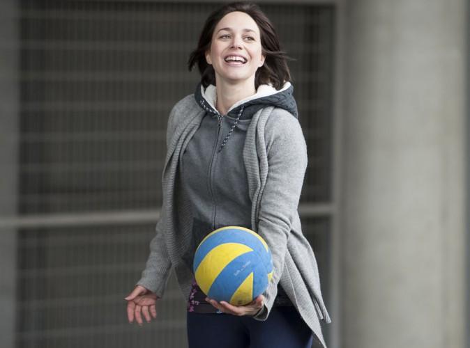 Championne au grand coeur, Nathalie P�chalat se met au ballon pour la bonne cause !