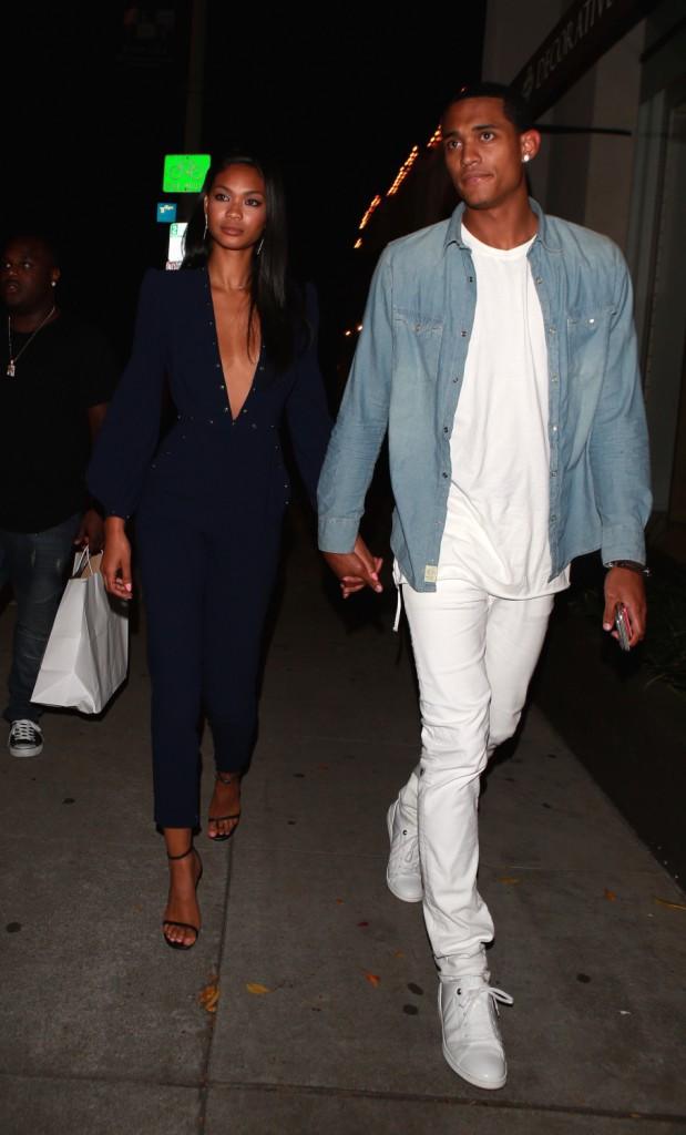 Chanel Iman et Jordan Clarkson à Los Angeles