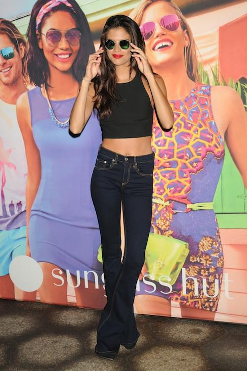 Sara Sampaio à New York le 18 juin 2015 !