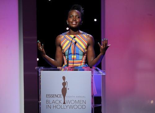 Lupita Nyong'o lors de la cérémonie des Black Women in Hollywood, le 19 février 2015 !