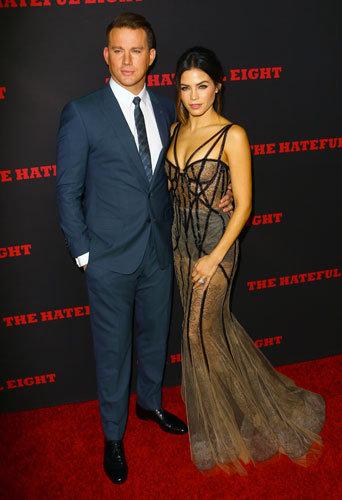 Photos : Channing Tatum et Jenna Dewan : pas de bébé en vue, mais un couple hyper sexy !