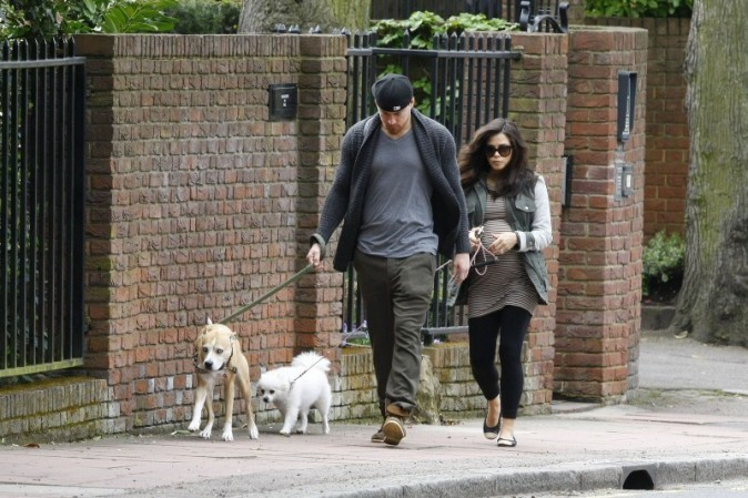 Jenna Dewan et Channing Tatum promènent leurs chiens