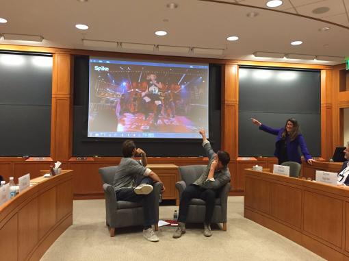 Channing Tatum à l'université de Harvard
