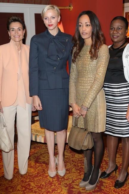 Charlène de Monaco lors du Ladies Lunch à Monte-Carlo, le 20 mars 2013.