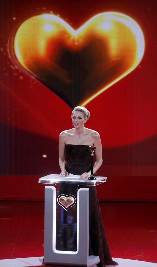 La Princesse a reçu un prix pour son action en Afrique du Sud