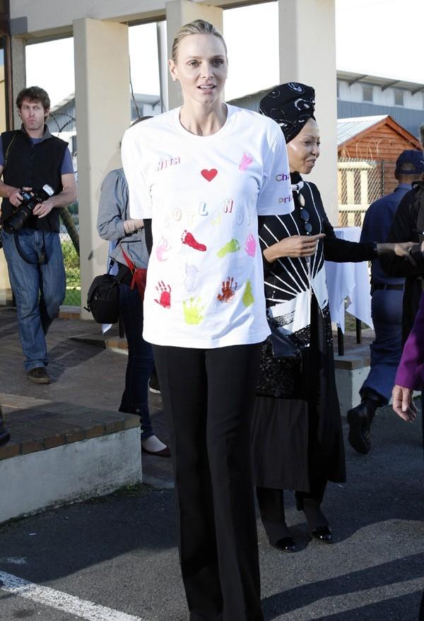 Charlene, Princesse au grand coeur ...