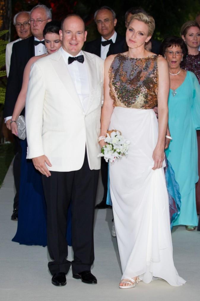 Charlène et Albert de Monaco, Bal de la Croix Rouge, Monaco, 3 août 2012