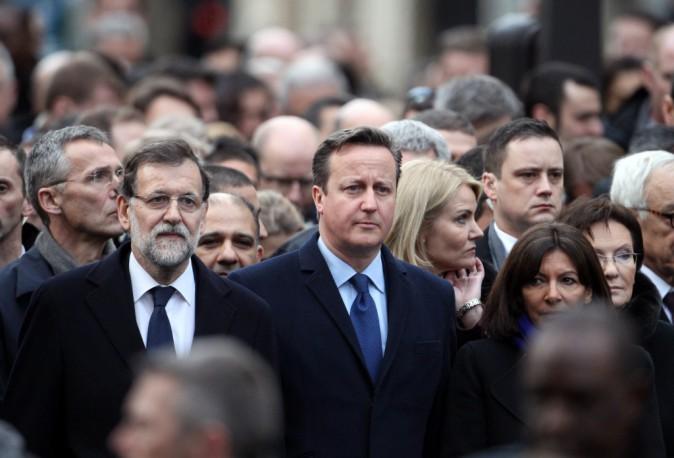Photos : Charlie Hebdo : le peuple et les chefs d'État, unis pour la liberté !