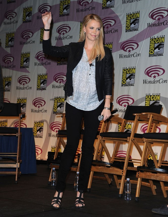 Charlize Theron au WonderCon !