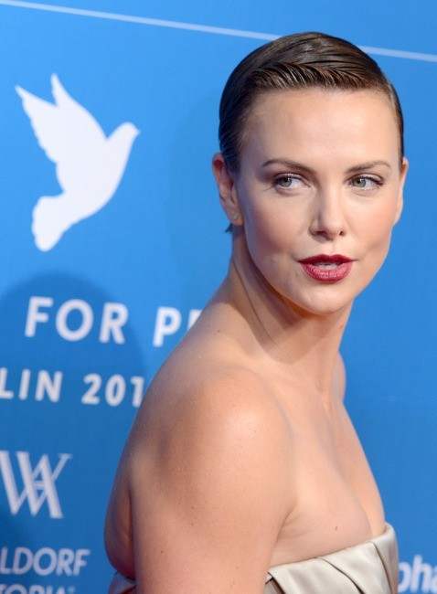 Charlize Theron, Berlin, 9 février 2013.