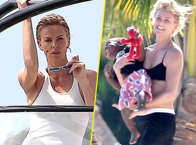 Charlize Theron : sublime face à l'objectif, elle retrouve tout son naturel au contact de son fils !