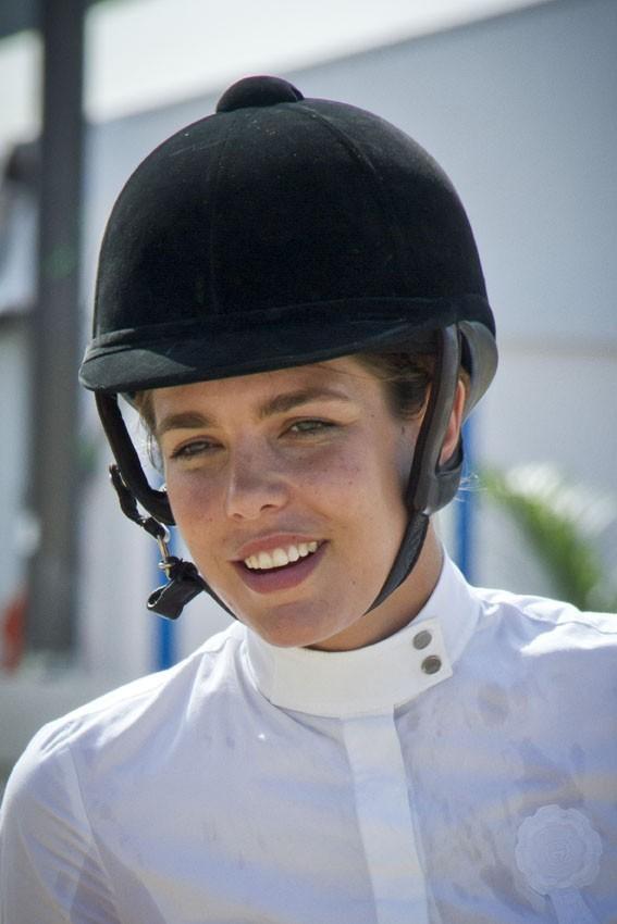 Charlotte Casiraghi à Monaco le 28 juin 2012