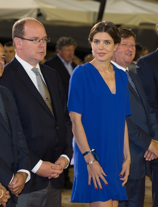 Charlotte Casiraghi à Monaco le 29 juin 2013