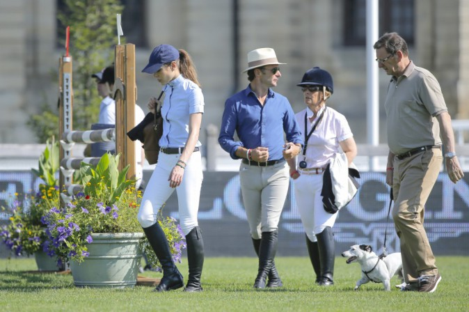 Charlotte Casiraghi au Jumping de Chantilly le 25 juillet 2014